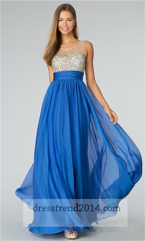 Beautiful Affordable Long Prom Dresses for 2014 Prom Night ...