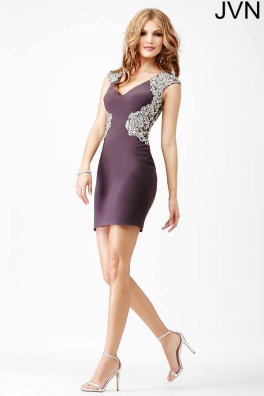 Jovani 27619 beaded short tight homecoming dresses 2015 on sale