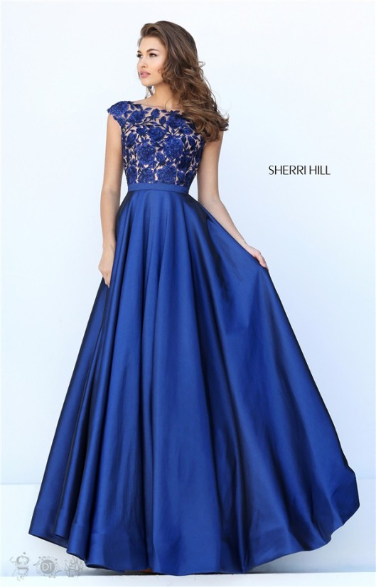 is also a similar ball dress with style #50318,that is Sherri Hill ...
