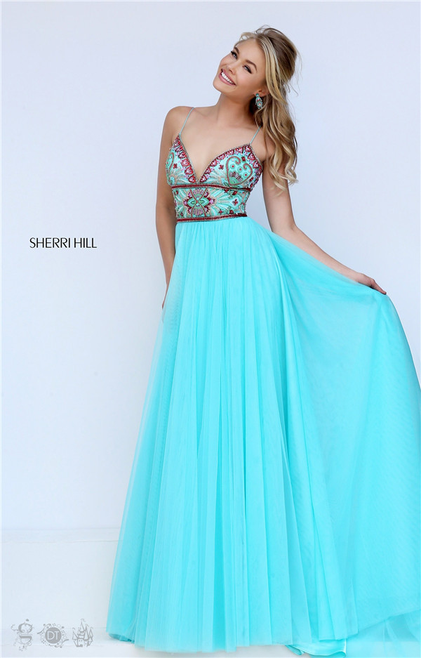 Sherri Hill Dresses with Straps